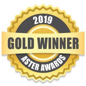 Three-time 2019 Gold Aster Award Winner