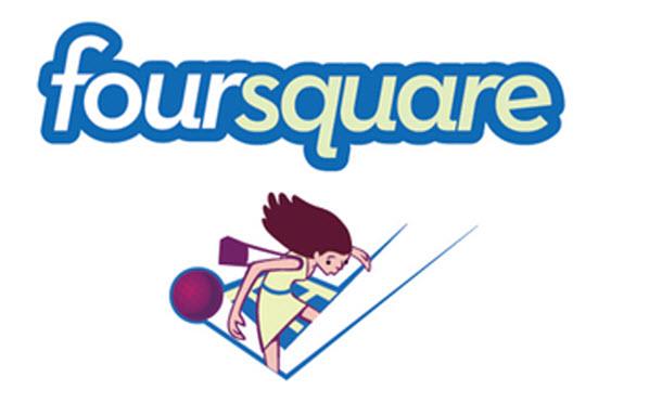 Foursquare location marketing
