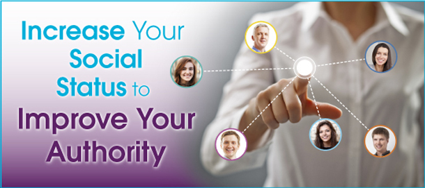 Increase Your Social Status to Improve Your Website's Authority