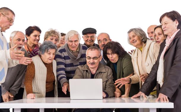 Home Care Website Senior Friendly