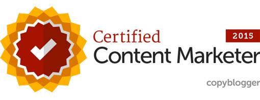 2015 Certified Content Marketing Copyblogger