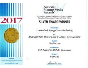 Midnight Sun Website National Mature Awards