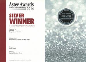 2014 Silver Aster AwardIndependence-4-Seniors Tip Sheet Series