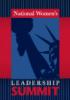 2002 National Women's LeadershipSummit Delegate