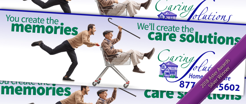 Caring Solutions billboard ad