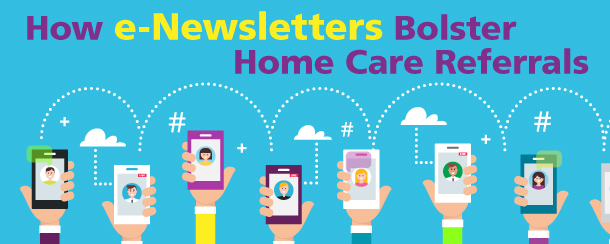 email marketing strategies for home care agencies graphic