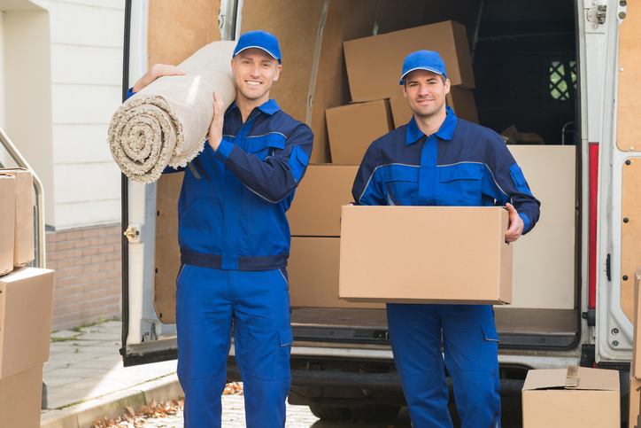 home care website image of professional movers