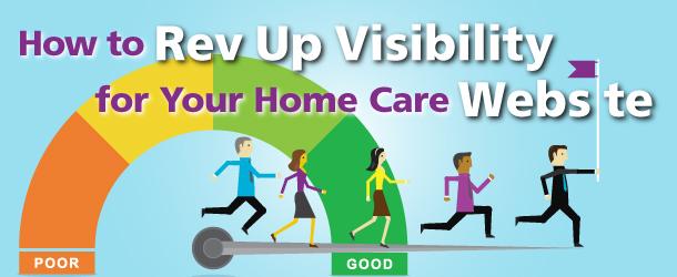 home care website visibility